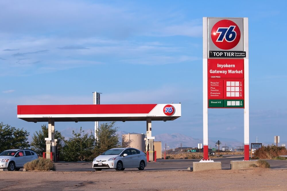 a 76 gas station