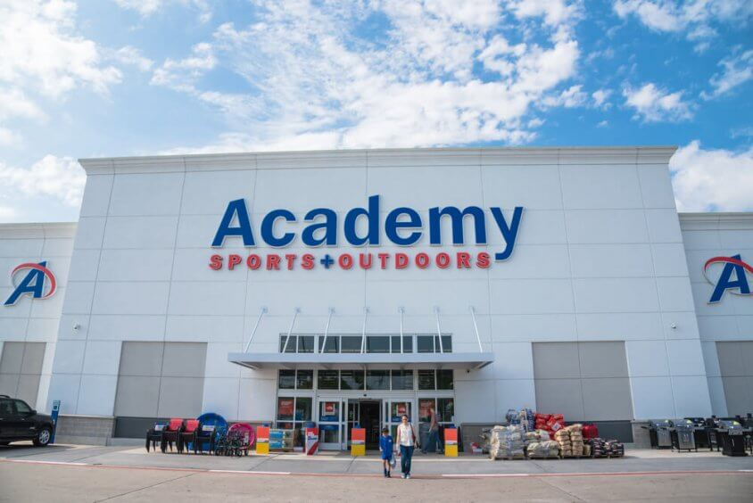 Academy Sports + Outdoors storefront