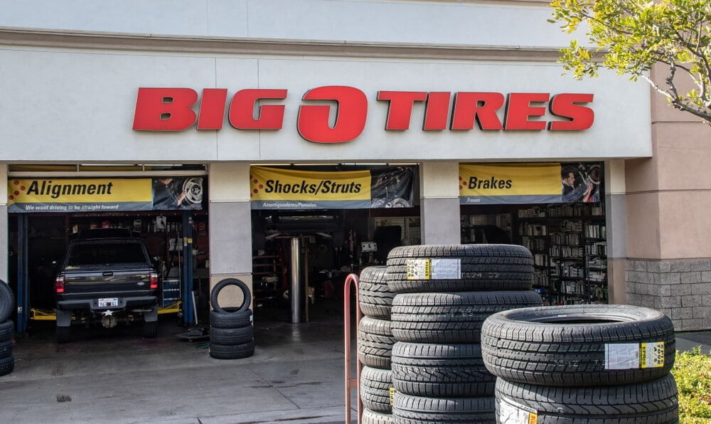 Big O Tires location