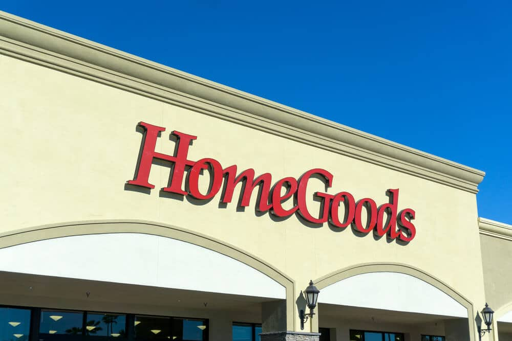 Exterior of a HomeGoods store