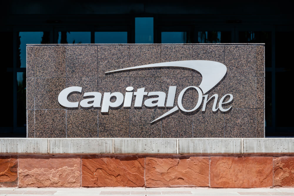 Capital One sign