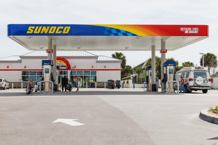 Some Sunoco gas stations sell kerosene at the pump