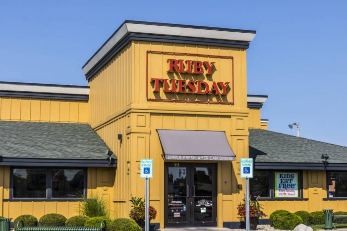 Ruby Tuesday storefront