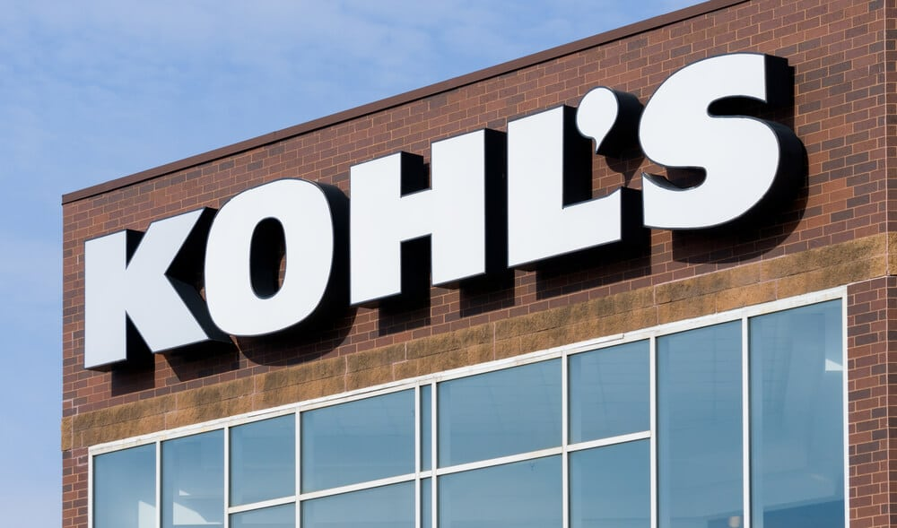 The outside of a Kohl's department store