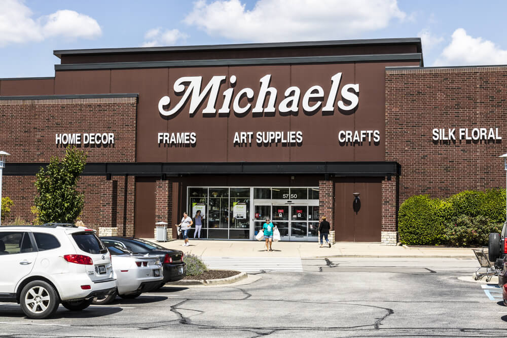 Michaels storefront