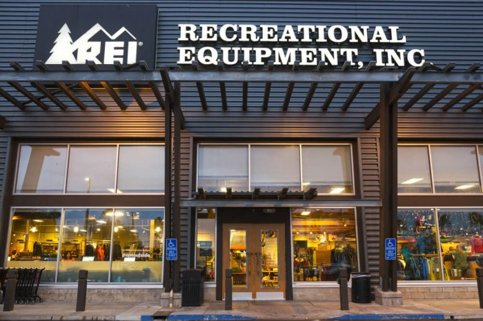 REI Co-op storefront