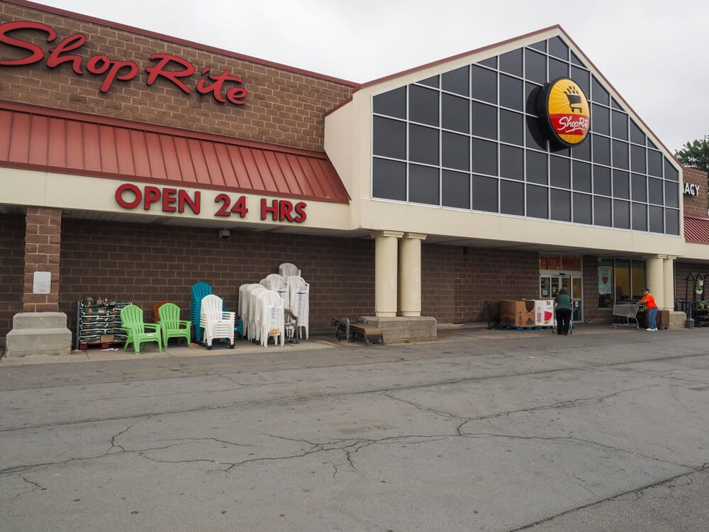 Front of a ShopRite store