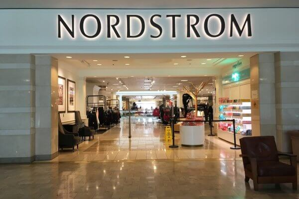 Entry to a Nordstrom in a mall